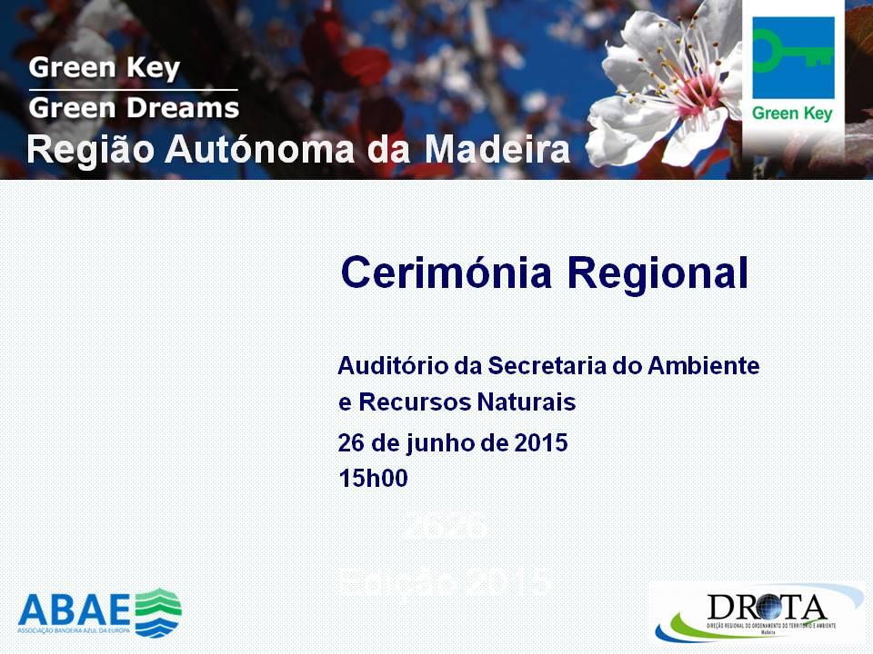 Madeira 2015 - Cerimónia
